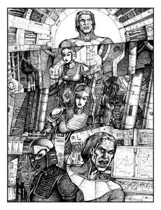 Comic-Page-From-Sketchbook-George-Todorovski