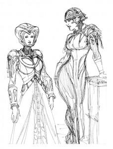 Sketch-Sci-Fi-Women