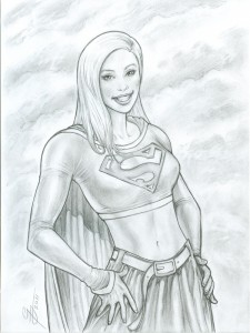 Supergirl-Pencil-Shaded-02