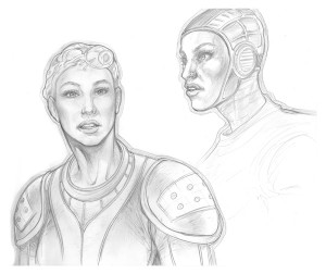 sketch_George-Todorovski_the-art-knight_19_Sci-fi-girl