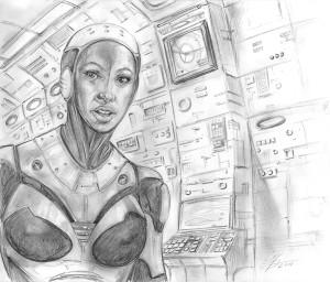 sketch_George-Todorovski_the-art-knight_20_Sci-fi-girl